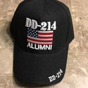 DD 214 Alumni Cap, Black